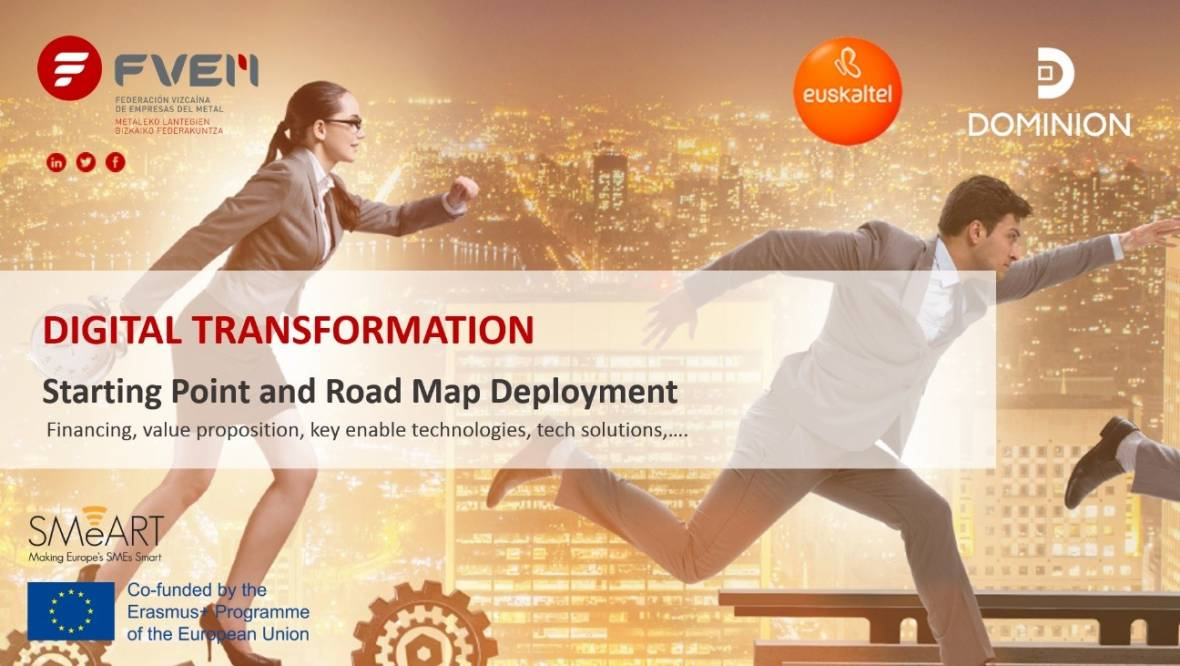 Digital Transformation: Starting point and Road Map deployment